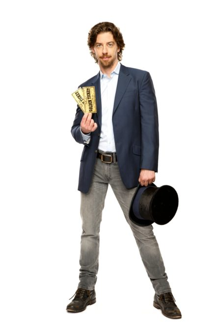 Chistian Borle - Charlie and the Chocolate Factory - Photo: Joan Marcus 5/16