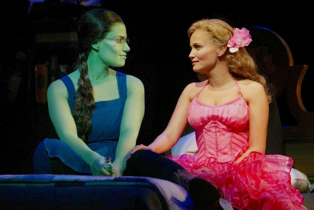 PS - OBC - WICKED - 2003 - Idina Menzel - Kristin Chenoweth - BY JOAN MARCUS