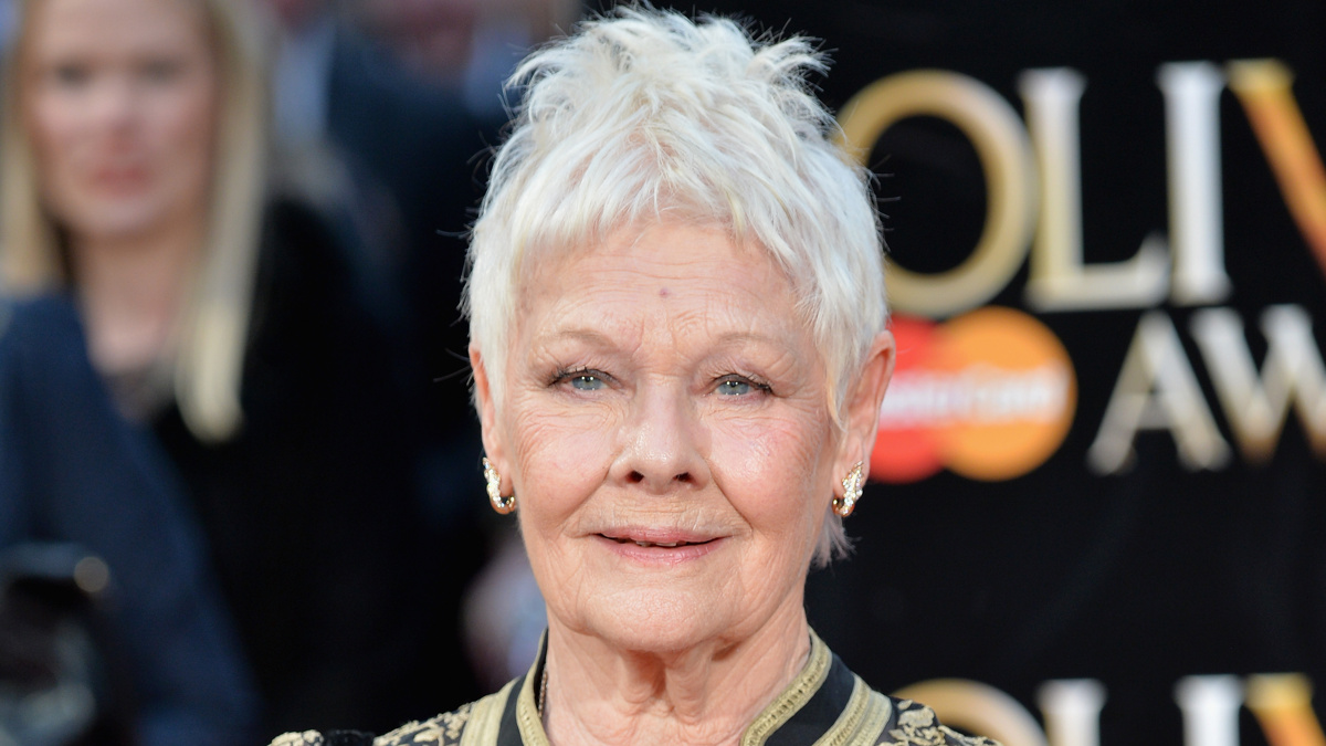 Judi Dench - 10/18 - Anthony Harvey/Getty Images