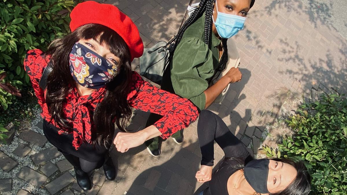 Yvette Gonzalez-Nacer - Jewelle Blackman - Kay Trinidad - 12/20 - Photo courtesy of Yvette Gonzalez-Nacer & Kay Trinidad