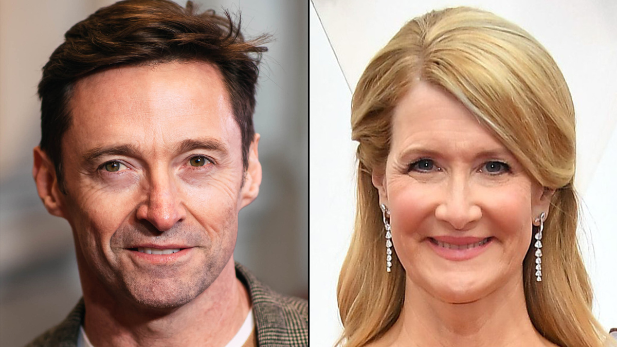 Hugh Jackman - Laura Dern - 3/21 -  Emilio Madrid - Amy Sussman/Getty Images
