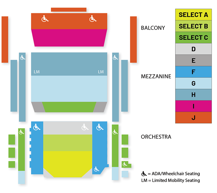 Season Seating Map